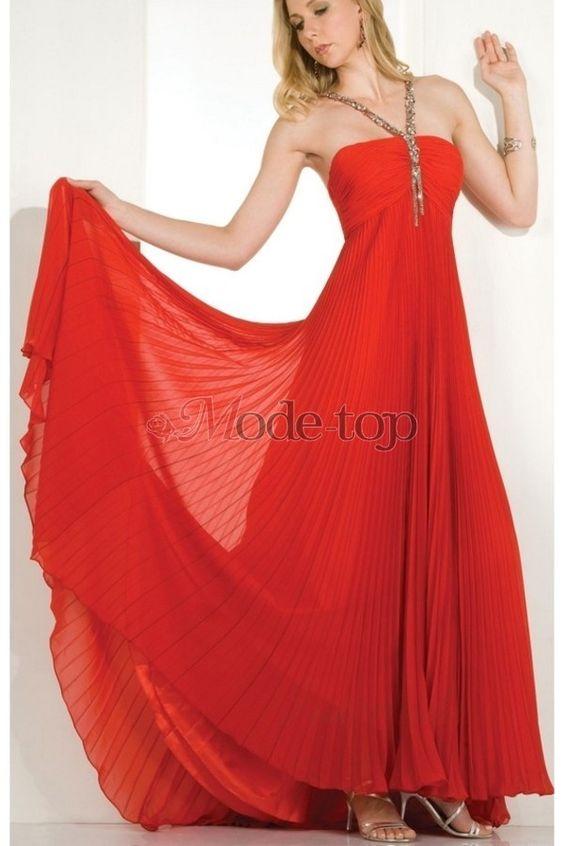 großes Bild 1 Empire Taille ärmelloses Perlenbesetztes bodenlanges Ballkleid/ Abendkleid