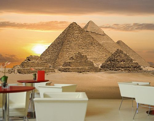 Photo walls egypt and photos on pinterest for Egyptian wallpaper mural