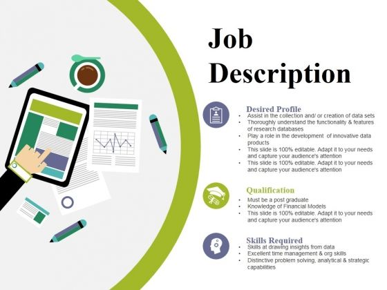 Job Description Ppt Powerpoint Presentation Gallery Outfit