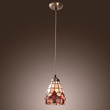 40W Traditional Tiffany Pendant Light with Stained Glass Shade in Floral Design http://ltpi.co.nf/?item=563540