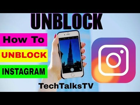 How To Block Unblock People On Instagram Techtalkstv Youtube Instagram Meaning Instagram Instagram Tips