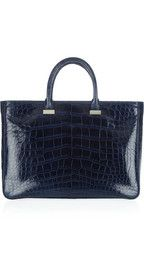 The Row Small Day Luxe alligator tote