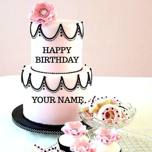 Excellent Birthday Cake Wish With Name Feat Happy Birthday Cake With Name Personalised Birthday Cards Veneteletsinfo
