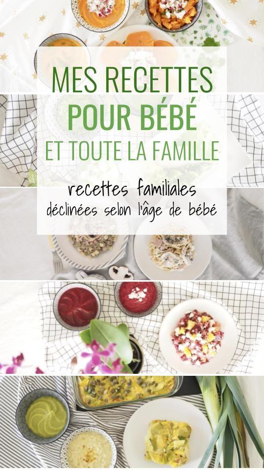 Un Seul Repas Pour Toute La Famille Cuisinez Pour Bebe Repas Pour Bebe Faits Maison Aliments Pour Bebe Faits Maison Recette Bebe