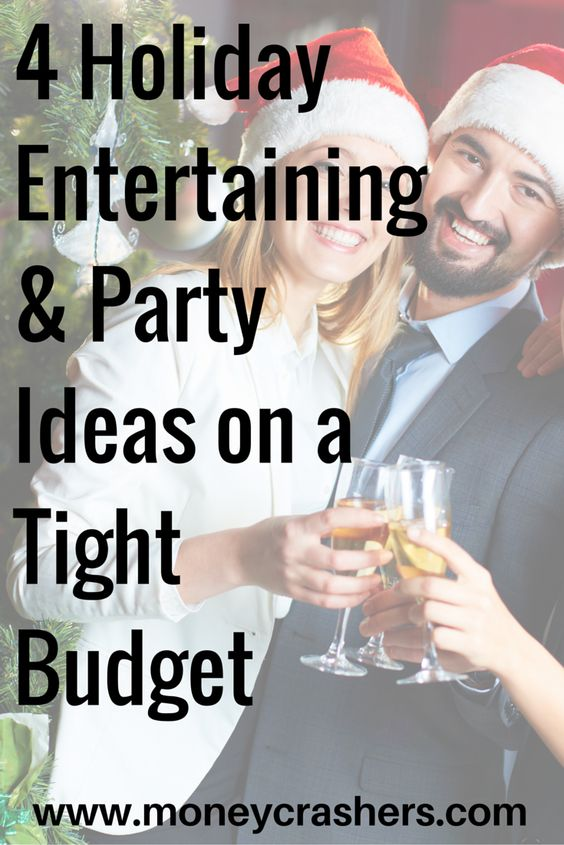 There are plenty of ways to have a great holiday party on a budget even Ebenezer Scrooge would approve. It all comes down to making smart choices about the four basic elements of a party: decorations, food, liquor, and entertainment. Click this pin to read more!