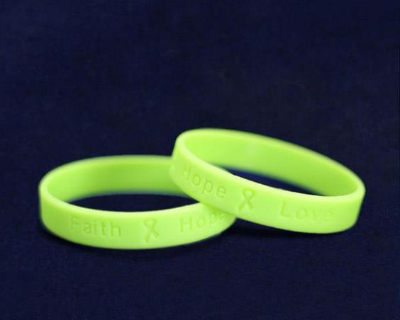 Mental health awareness bracelets