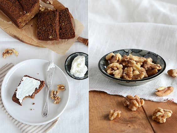 Date-Walnut Loaf Cake