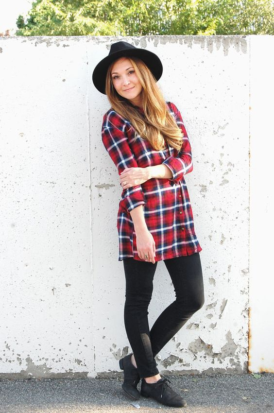 West End Girl Blog | Autumn Flannel