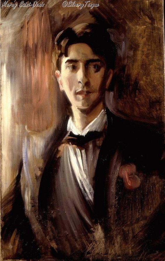 Portrait of Jean Cocteau by Federico de Madrazo de Ochoa.
