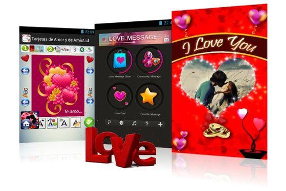 Aplicaciones Android para crear tarjetas de amor desde el teléfono, tarjetas de amistad, tarjetas de felicitación, tarjetas personalizadas y más.