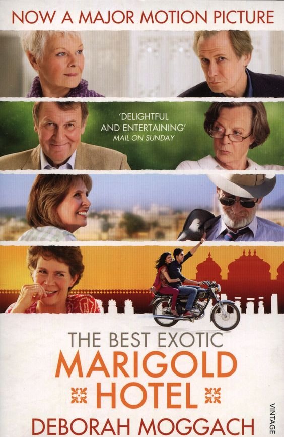 The Best Exotic Marigold Hotel (Tai, this movie is now on Netflix and has Maggie Smith and Judy Dench in it. Also, it's set in Jaipur. I liked it.)