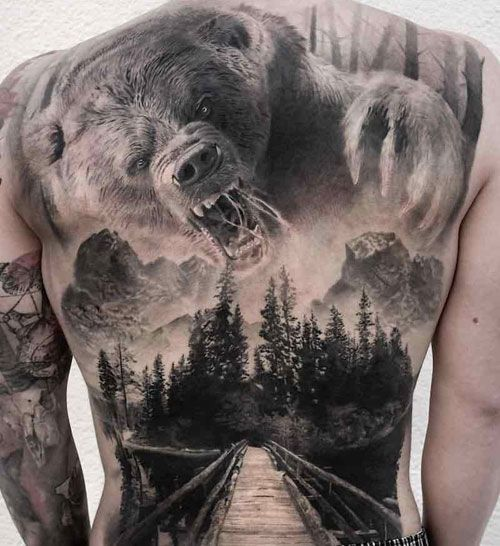 125 Best Back Tattoos For Men Cool Ideas Designs 2020 Guide Cool Back Tattoos Back Tattoos For Guys Tattoos For Guys Badass