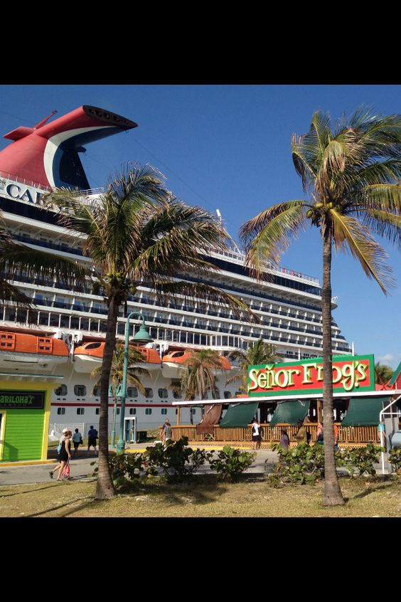 Freeport, Bahamas...arrived here on a Carnival Cruise ship ...