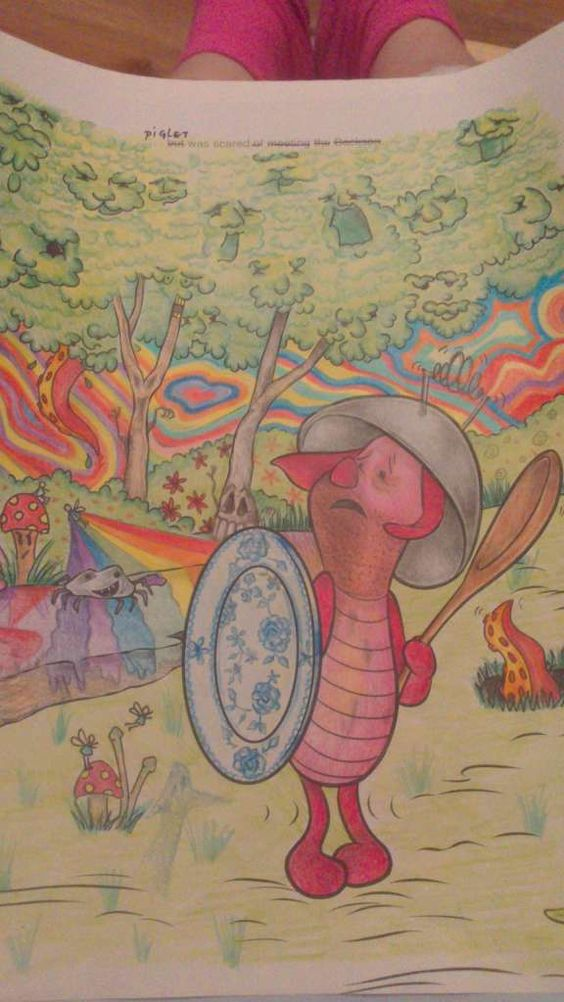 These Coloring Books Prove That Adults Should NOT Be Trusted With Crayons