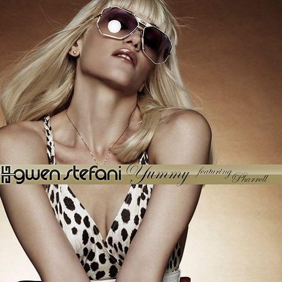 Gwen Stefani, Pharrell Williams – Yummy (single cover art)