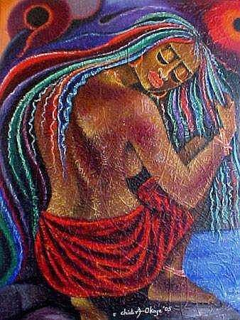 Touch Of Beauty 2 Painting