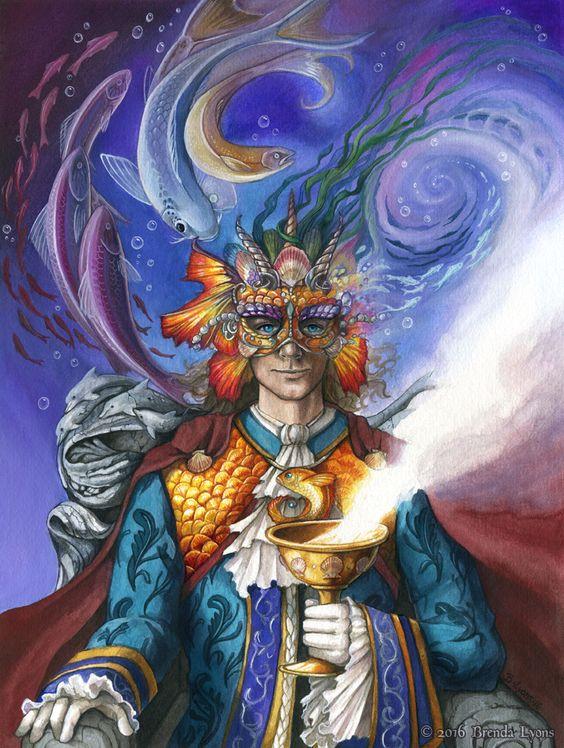 http://www.deviantart.com/art/King-of-Cups-78-Carnival-Tarot-598685607