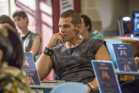 A fan thinks Greg Finley looks like Isaiah from Crash Into You. What do you think?