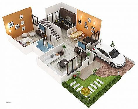 Duplex House Designs 1200 Sq Ft Duplex House Design West Facing House Small House Design