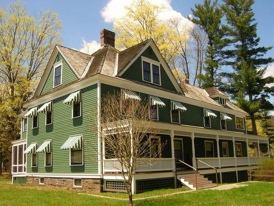 Zane Grey Museum, Lackawaxen, Pennsylvania, built circa 1912