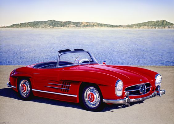 Mercedes-Benz 300SL - Whether you're interested in restoring an old classic car or you just need to get your family's reliable transportation looking good after an accident, B & B Collision Corp in Royal Oak, MI is the company for you! Call (248) 543-2929 or visit our website www.bandbcollisio... for more information!