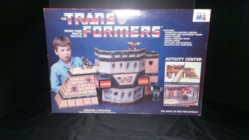 1985-RARE-Transformers-Activity-Center-by-Warren-Excellent-Unused