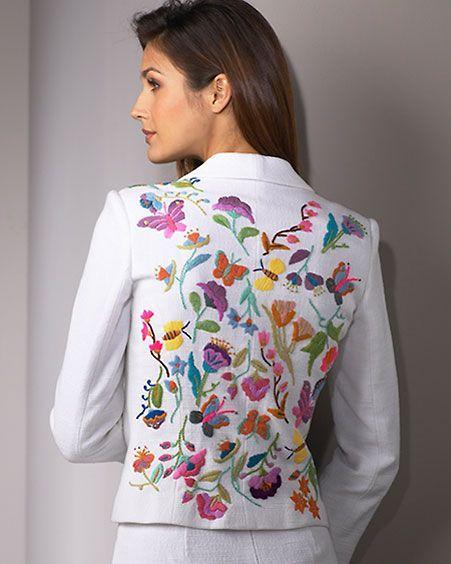 Chaqueta bordado a mano buscar con google chaquetas for Chaquetas guapas