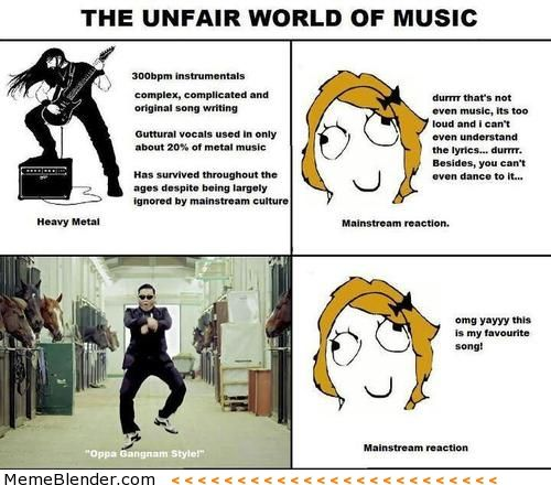 Fun Meme Music : Heavy metal your brain and sums it up on pinterest