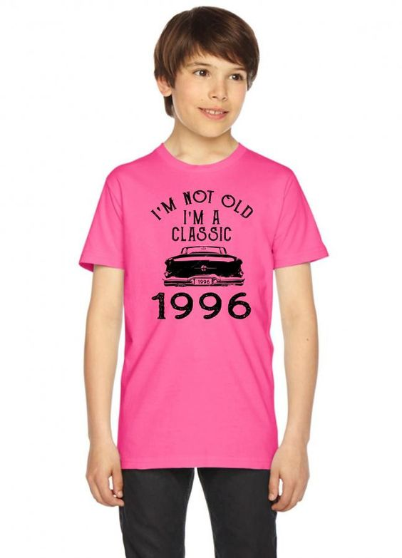 i'm not old i'm a classic 1996 Youth Tees