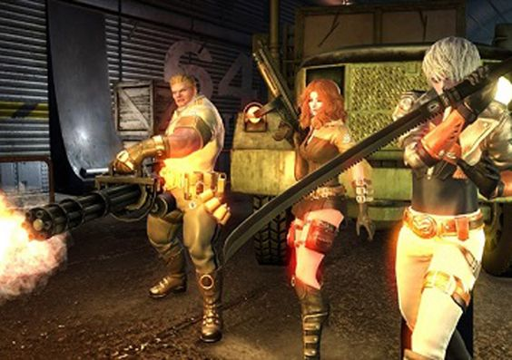 GunZ 2 The Second Duel will be a Free-to-Play Third Person, Shooter MMO Game