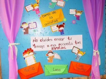 Preescolares ideas para decorar el aula ideas para for Decoracion salas jardin de infantes