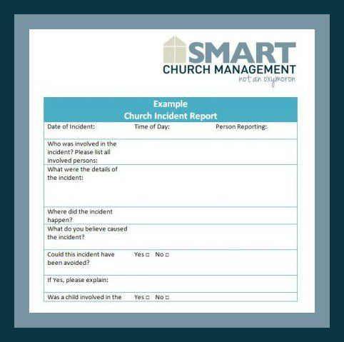 Church Forms And Job Descriptions Smart Church Management Sample Resume Resume Management