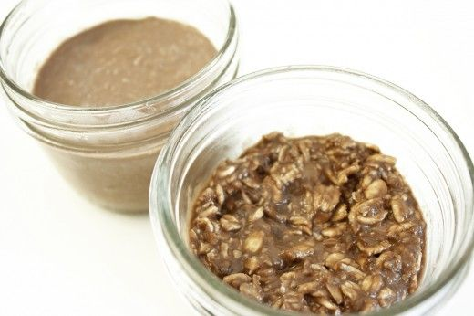 Chocolate Cake Batter Overnight Oats (does have Chia)