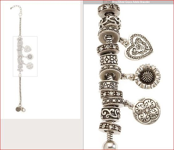 Charms-Silver Grace Adele Bracelet  https://lynnebiniker.graceadele.us/GraceAdele/Buy/ProductDetails/10288