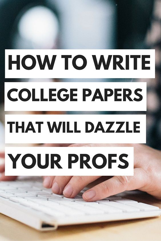 How To Write A College Paper, HowToLearn