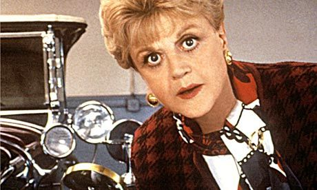 Angela Lansbury as Jessica Fletcher in Murder, She Wrote