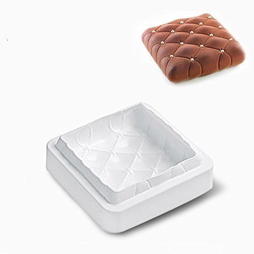 Square Silicone Cake Mold Pan 8 Inch Nonstick Bakeware Baking