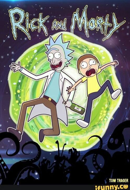 Algo Tipico V Les Traigo Fondos De Pantalla Kul Xdadventurousworlds Rick And Morty Drawing Rick I Morty Rick And Morty
