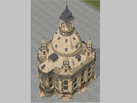 Kirche Groß nach dem Vorbild der Frauenkirche. Ab #EEP10 http://bit.ly/Kirche-Groß-nach-dem-Vorbild-der-Frauenkirche