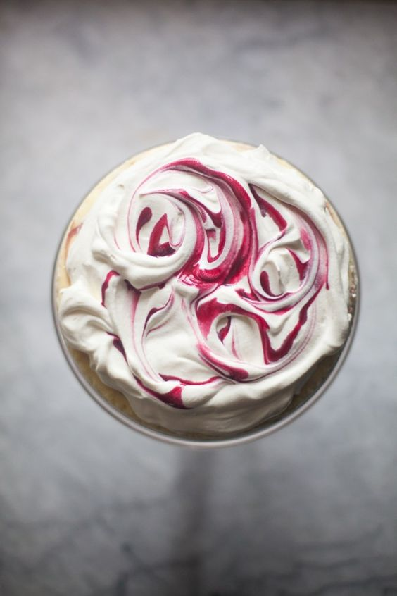 Pomegranate Swirl New York Cheesecake | ZoeBakes photos by Zoë François