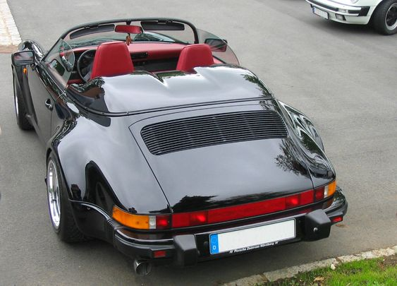 Porsche 911 3.2 WTL Speedster (1989)