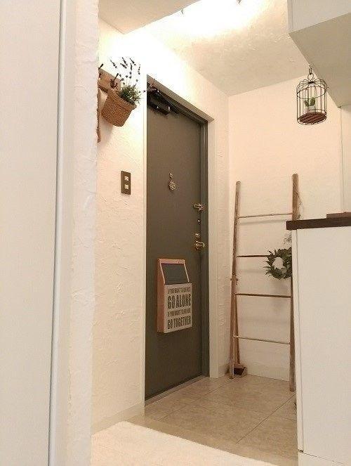 原状回復ok 玄関ドアポストの設置方法と簡単な作り方 玄関 インテリア Diy 玄関ドア Diy 玄関ドア