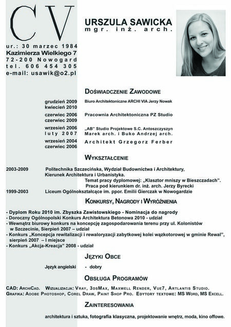 Source INTERNET Résumé CV Resume Resumé Resümee - resume or curriculum vitae