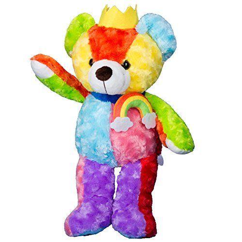 Image result for RAINBOW TEDDYBEAR KING