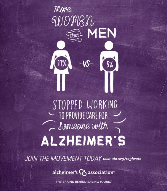 More women than men leave their careers to care for a loved one with ALZ. Learn more about how women are at the epicenter of Alzheimer's by visiting www.alz.org/greaterdallas
