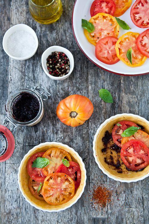 Heirloom Tomato Tart compliments of Tartelette