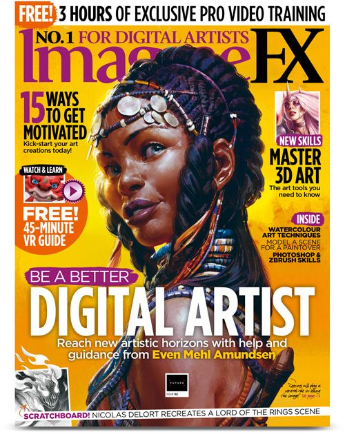 Magazine Subscriptions More Imaginefx Print My Favourite