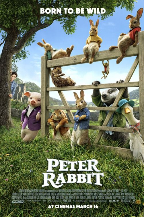 Peter Rabbit Trailers Tv Spots Clips Featurettes Images And