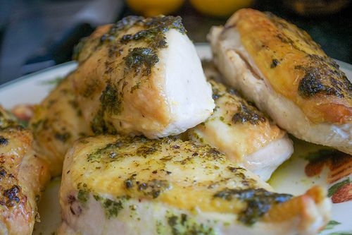 Argentine Pollo Provencale: Roasted Chicken with Garlic, Parsley and Lemon (AIP, Paleo, Gluten-Free)