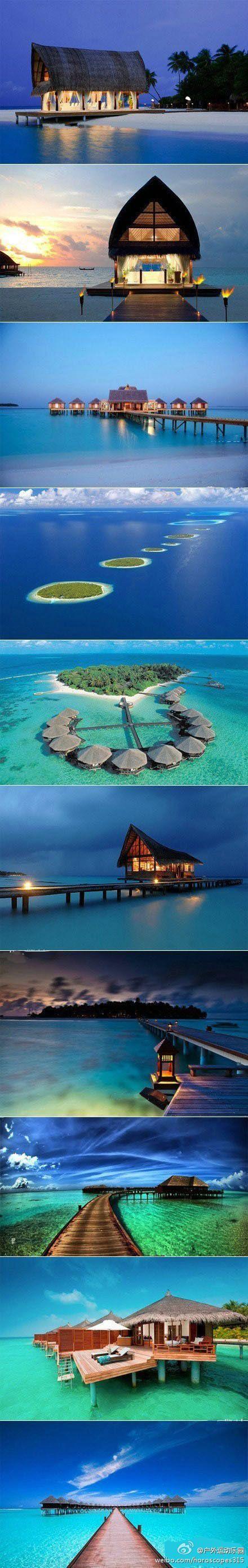 the maldives..